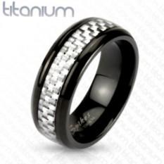 Мужское титановое кольцо Spikes