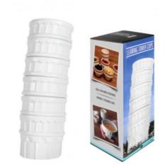 Набор чашек для кофе Пизанская башня