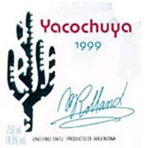 Вино Yacochuya