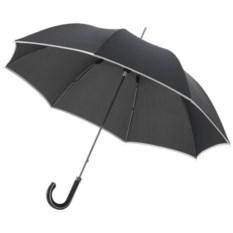 Механический зонт-трость Ривер (цвет - черный)