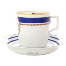 Чашка с блюдцем Кают компания (фарфор)
