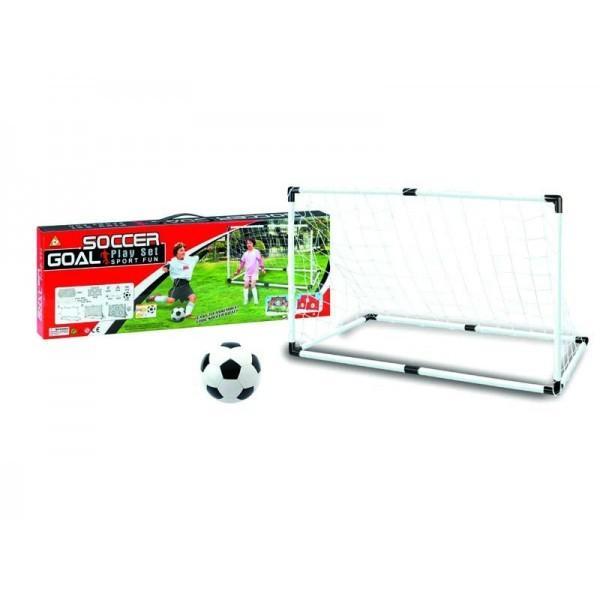 Ворота для мини-футбола и мяч