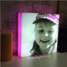 Детский ночник с фотографией ребёнка на заказ