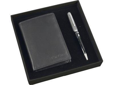Набор Samsonite: портмоне, ручка шариковая