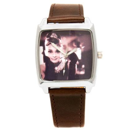 Наручные часы «Одри Хепберн» сепия
