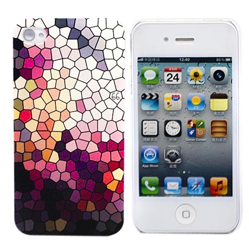 Пластиковый чехол для iPhone 4 Mosaic