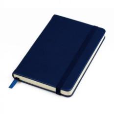 Темно-синий бизнес-блокнот А5 Casual