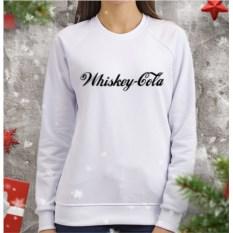 Женский свитшот Виски-кола