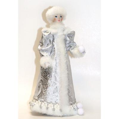 Сувенир «Снегурочка под ёлку со снежком»