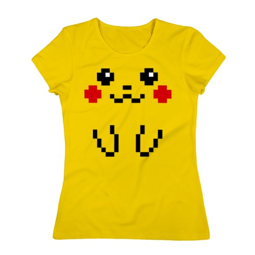 Женская футболка Bit Pikachu