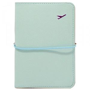 Обложка для паспорта Travel, blue