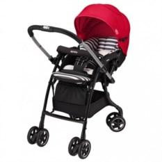 Детская коляска Aprica Luxuna Dual (цвет: красный)