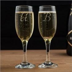 Бокалы для шампанского Он и Она
