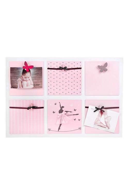 Рамка для 6-ти фото Прекрасная балерина