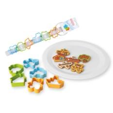 Формочки для печенья «Набор для мальчиков», 6 штук