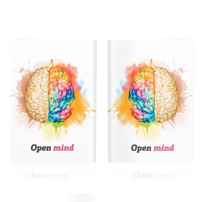 Обложка для паспорта Open mind