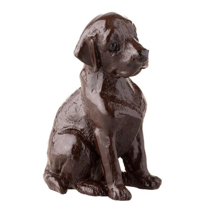 Шоколадная фигура Лабрадор