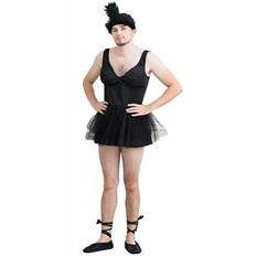 Карнавальный костюм Черный лебедь, размер 50-54