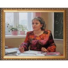 Оригинальный портрет учителям