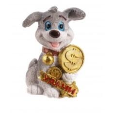 Декоративная фигурка Собака с долларом