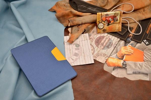 Кожаный чехол для iPad 5 Air 2 «Весенняя Пеларгония»