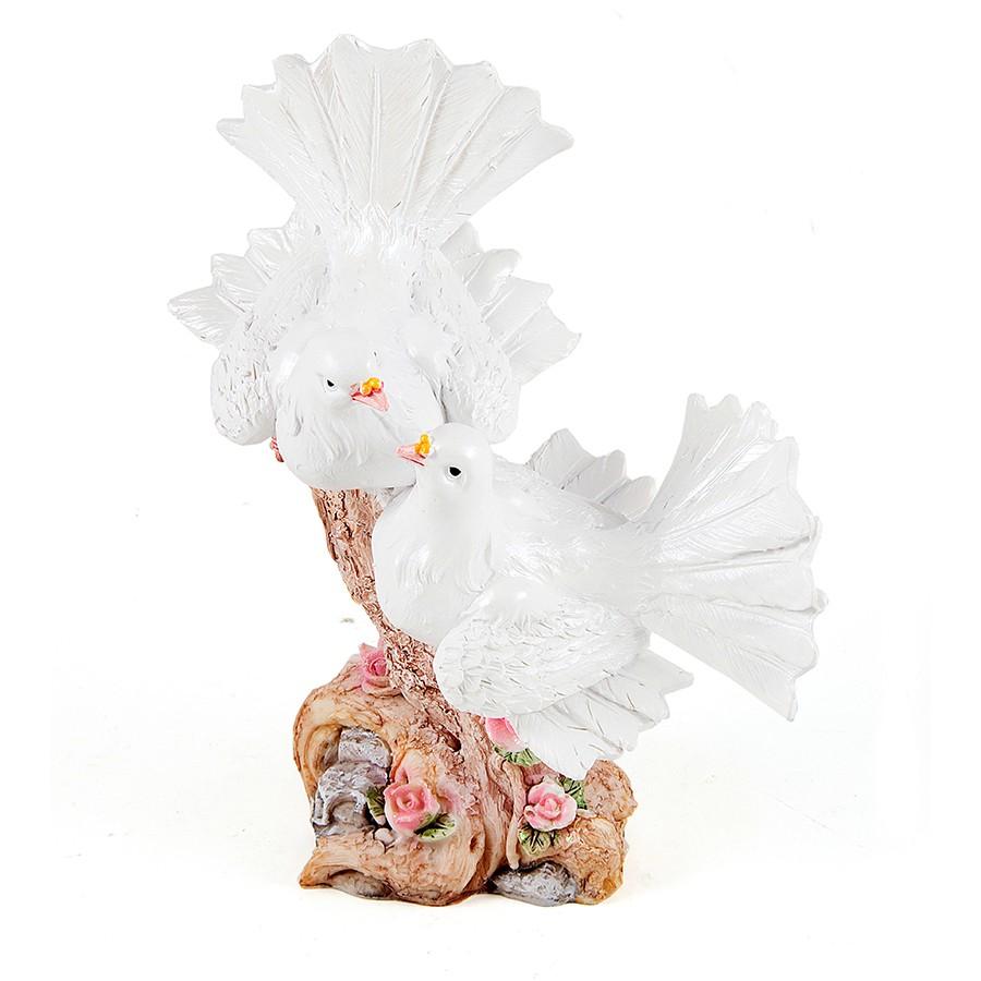 Декоративная статуэтка Свадебные голуби