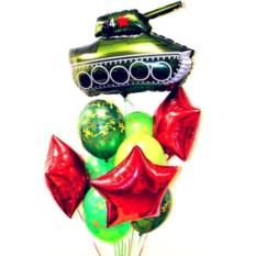 Букет шаров Наши в городе