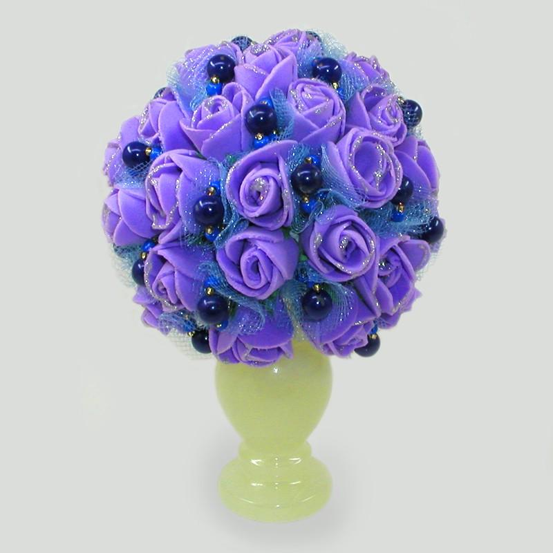 Цветы из лазурита Фиолетовые сны