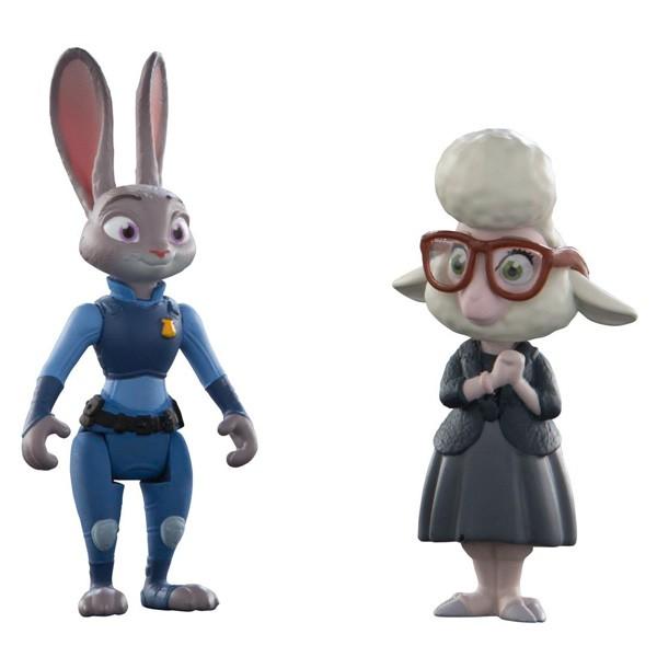 Набор фигурок Джудис и мисс Барашкис - Zootropolis
