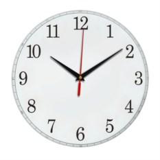 Настенные белые часы Классика