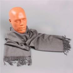 Мужской шарф в серых тонах Frantelli