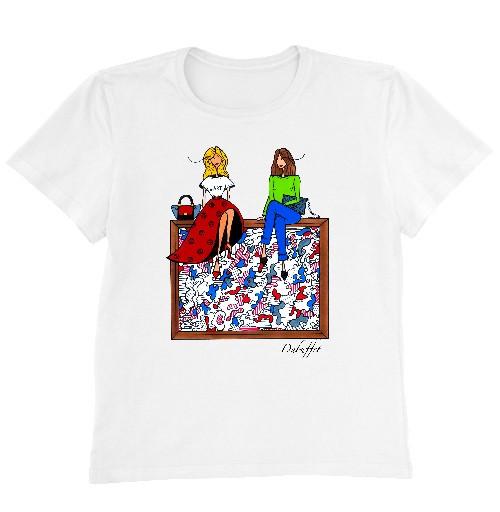 Женская футболка DUBUFFET