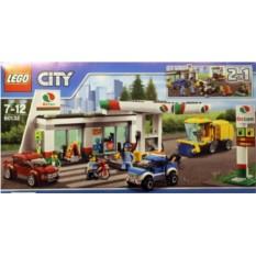 Конструктор Lego City Станция технического обслуживания