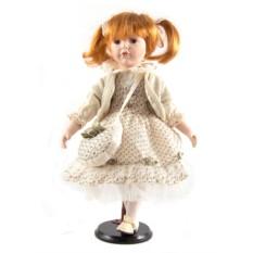 Фарфоровая кукла Женечка