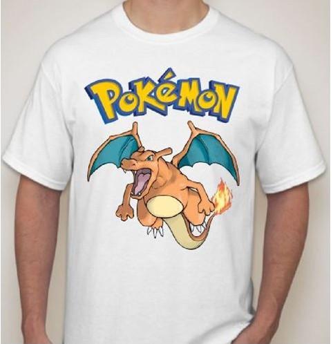 Мужская футболка с покемоном Чаризард