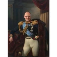 Портрет по фото в стиле Царь