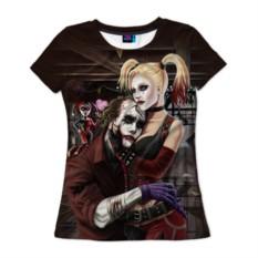 Женская футболка 3D с полной запечаткой «Харли Квинн»