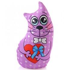 Игрушка-подушка антистресс Кот подарочный