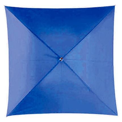 Механический зонт-трость Quatro, синий