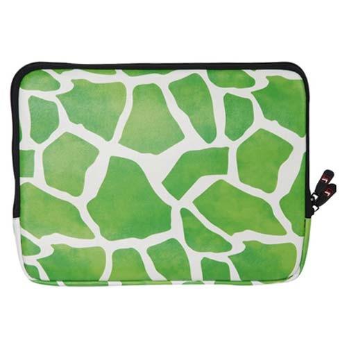 Чехол для ноутбука 10 Зеленый Жираф