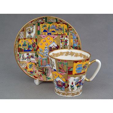 Чашка с блюдцем «Сказка»