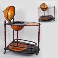 Глобус-бар со столиком, диаметр 33 см