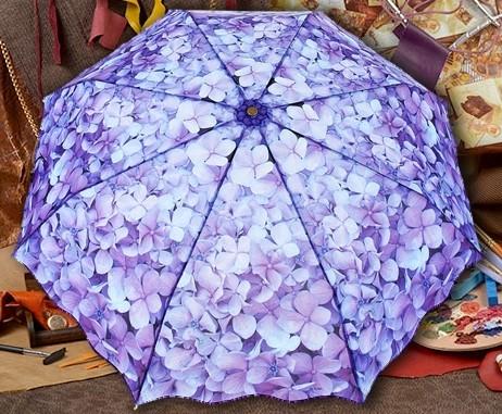 Женский зонт Фиалка