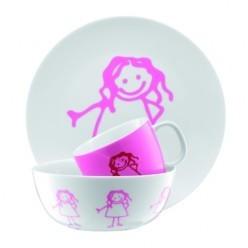 Набор детский (3 предмета) для девочек