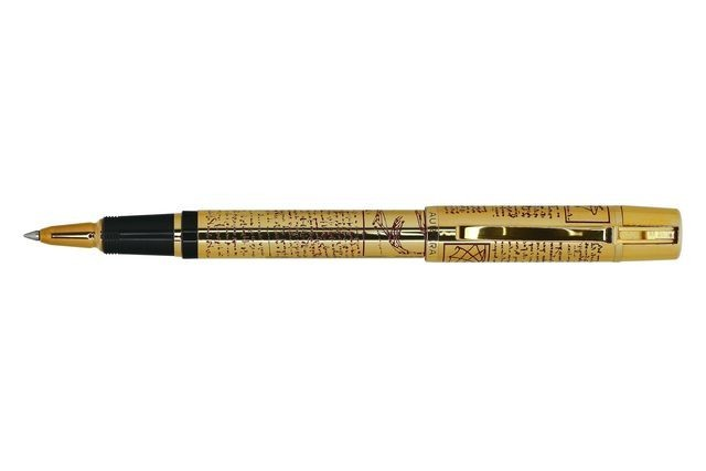 Ручка Aurora Leonardo da Vinci gold plated RB AU 979