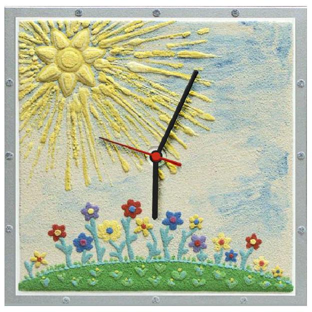 Часы настенные «Солнышко»