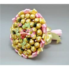 Букет из конфет Весеннее утро