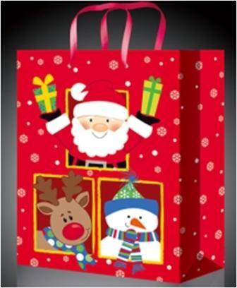 Новогодний пакет Дед мороз с друзьями