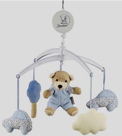 Мобиль на кроватку Медвежонок Билли, Sterntaler
