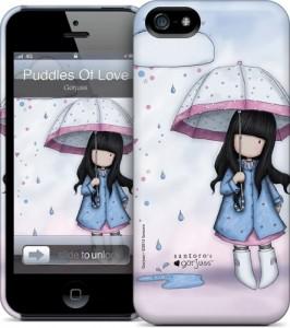 Чехол для iPhone 5 Gelaskins Puddles of Love